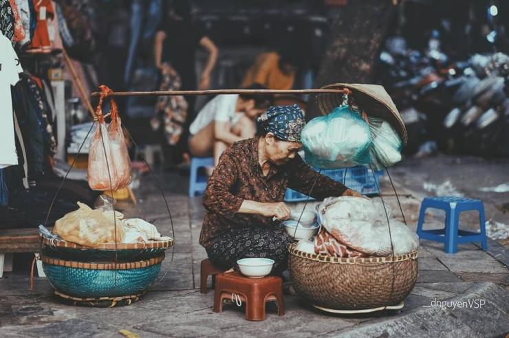 Gánh hàng rong Sài Gòn xưa