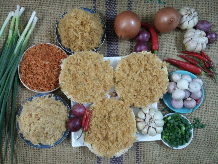 cơm sấy chà bông hương vị truyền thống