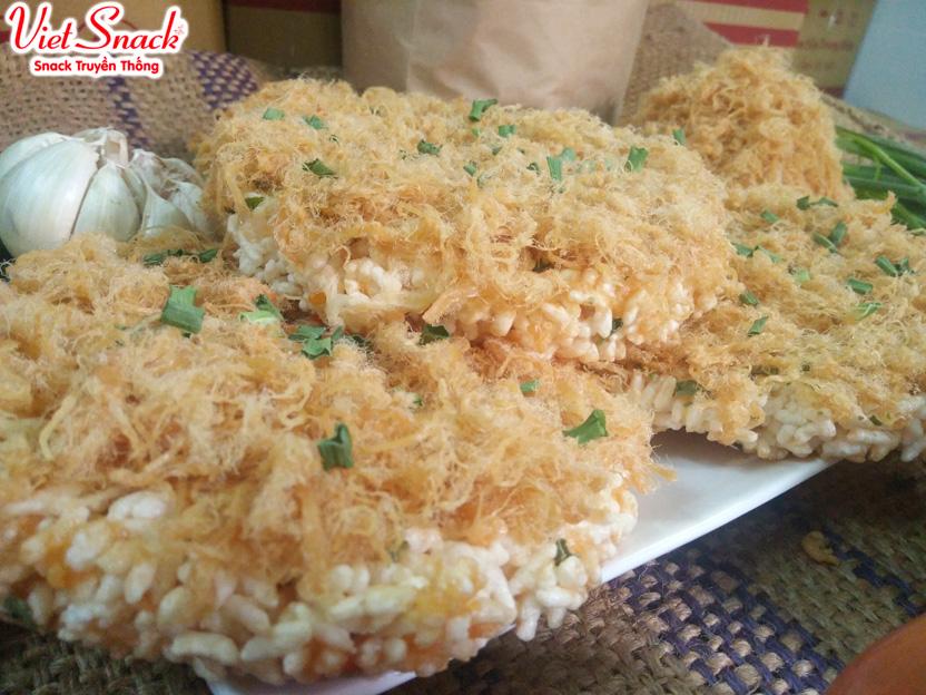 Việt Snack - hương vị cơm cháy chà bông truyền thống